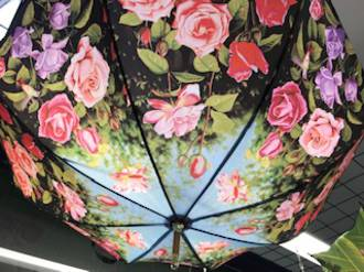 Rose Garden Umbrella