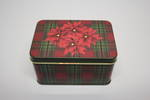 Poinsettia Xmas Tin