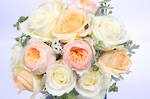 Apricot Wedding Bouquet