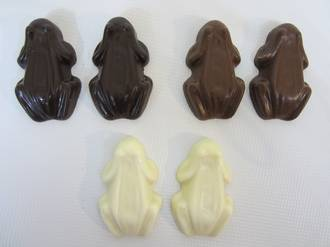 Scilla Chocolate Frogs