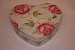 Flower Heart Tin